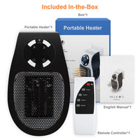 500W Electric Heater Mini H77