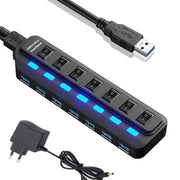 Switch LED Multiple USB S202