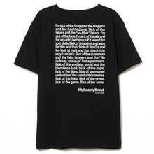 Load image into Gallery viewer, 'MyBeautyBrand manifesto' T-shirt