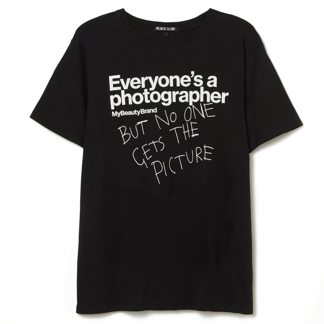 'Everyone's a photographer' T-Shirt