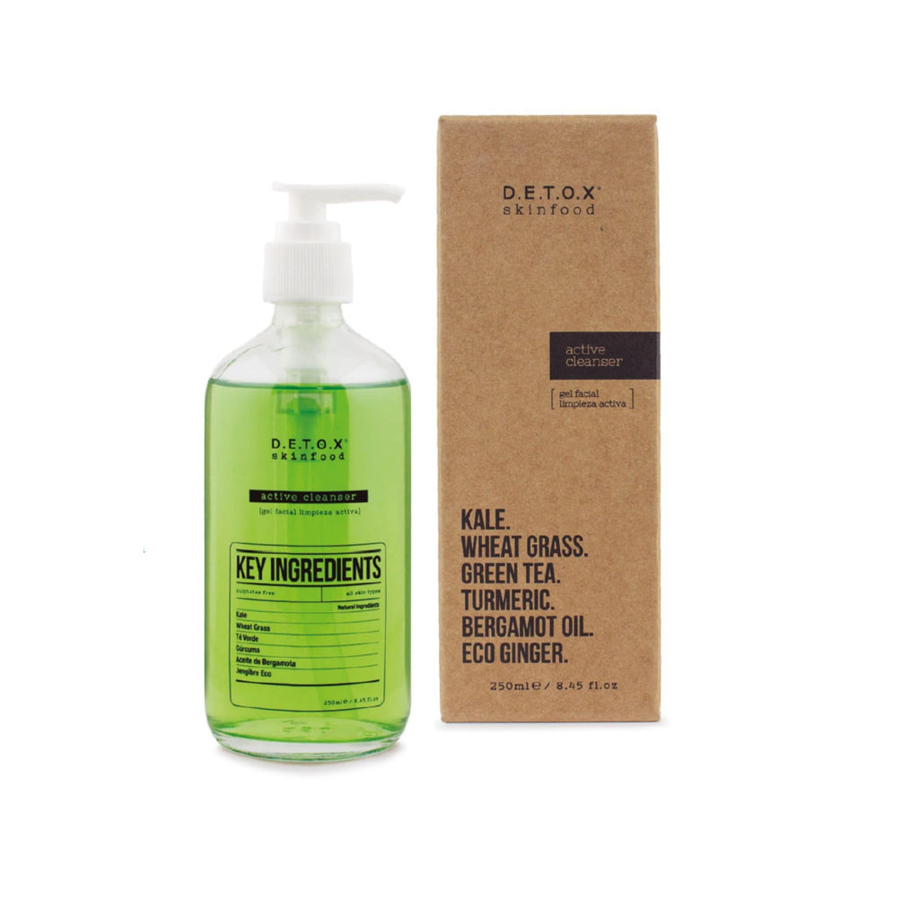 D.E.T.O.X skinfood Active cleanser 250 ml - NOTS SHOP