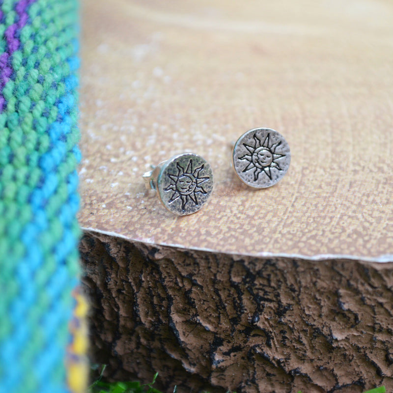 Mystic Sun and Moon Earrings