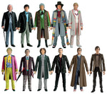 Dr. Who - The Eleven Doctors Figure Set