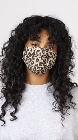 Barts Accessories Leopard Print Face Mask