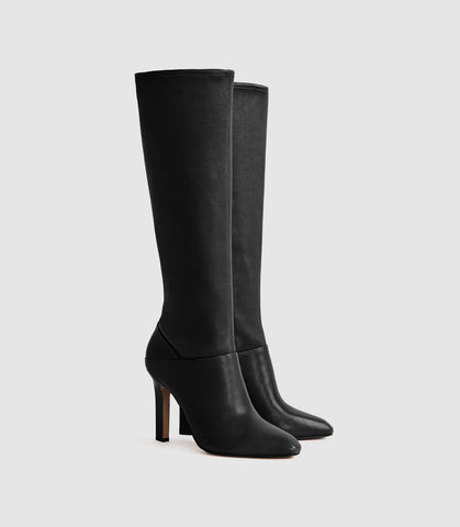 Reiss knee-high boots