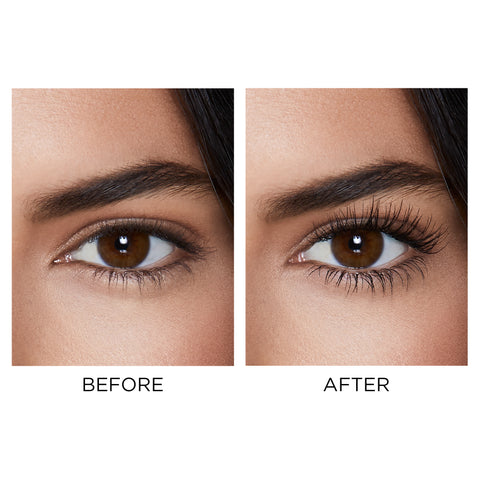 Unlocked Mascara before and after