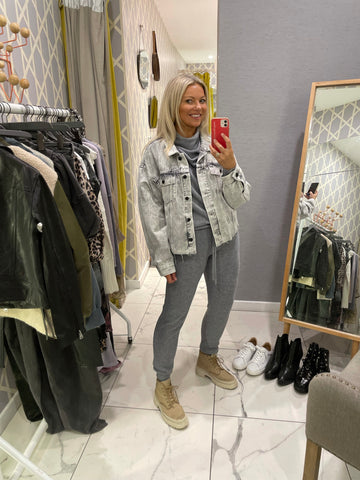 Alice Marsh AllSaints coord set with jacket