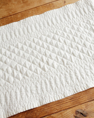 Mary Berry quilted runner