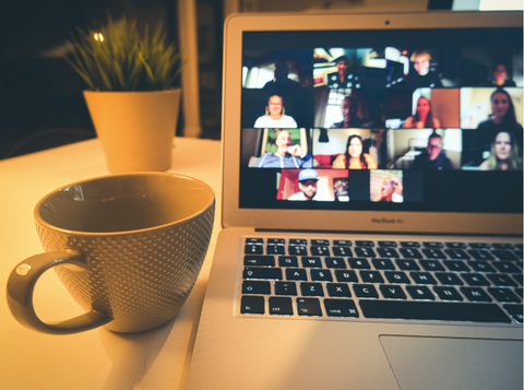 Zoom meetings - image via Unsplash