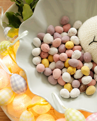 Sophie Conran Easter styling close up by Sisley White