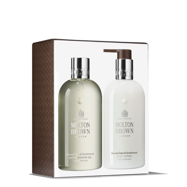 SERENE COCO & SANDALWOOD BATH DUO