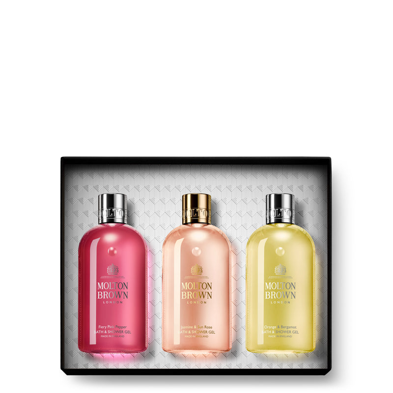 FLORAL & CITRUS COLLECTION BATHING TRIO GIFT SET
