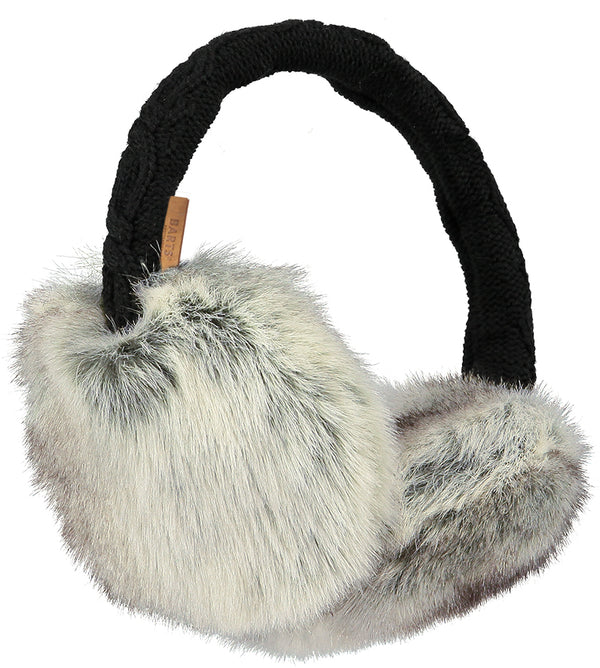 Barts Accessories Heather Brown Fur Earmuffs