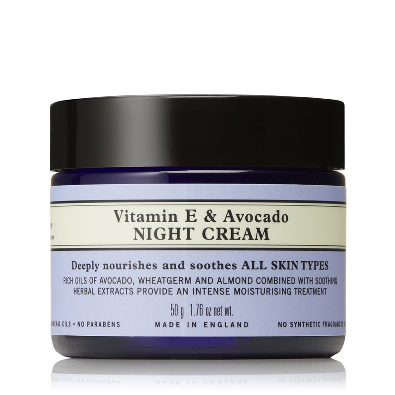 Neal's Yard Remedies Vitamin E & Avocado Night Cream 50G