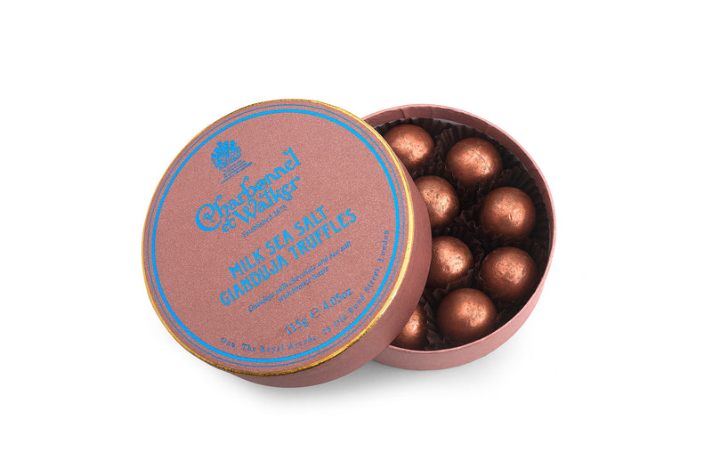 Milk Sea Salt Gianduja Chocolate Truffles 115g