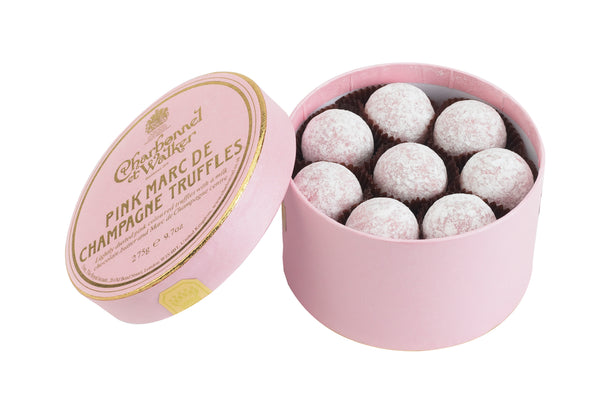 Pink Marc de Champagne Chocolate Truffles 275g