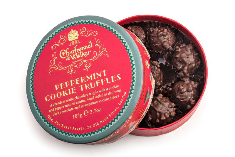 CHRISTMAS PEPPERMINT COOKIE TRUFFLES 105G