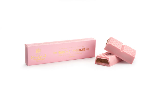 Pink Marc de Champagne Chocolate Bar 75g