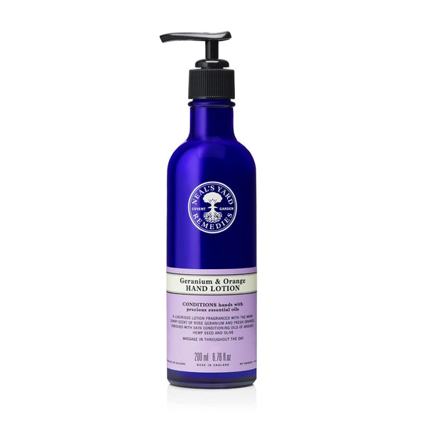 Neal's Yard Remedies Geranium & Orange Hand Lotion 200ml