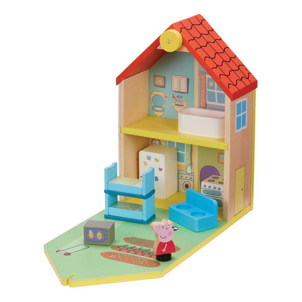 PEPPA PIG WOODEN FAMILY HOME