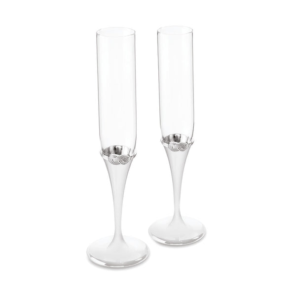 VERA WANG INFINITY TOASTING FLUTE SET OF 2