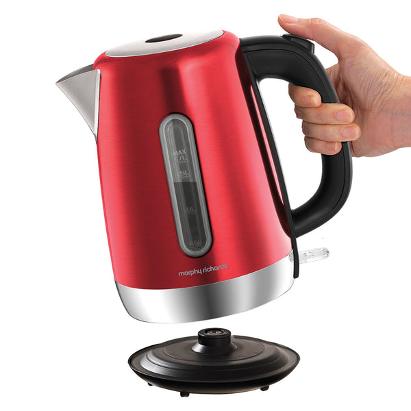 Morphy Richard Equip Red Kettle
