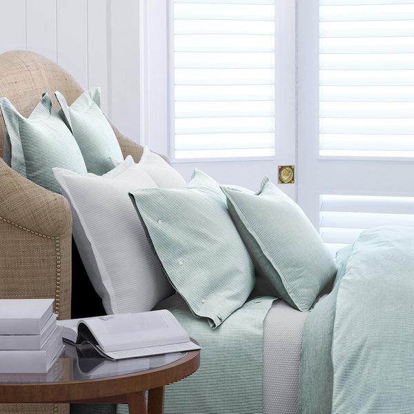OXFORD EVERGREEN DUVET COVER