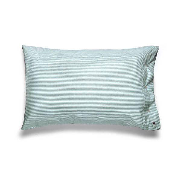 OXFORD EVERGREEN PILLOWCASE PAIR