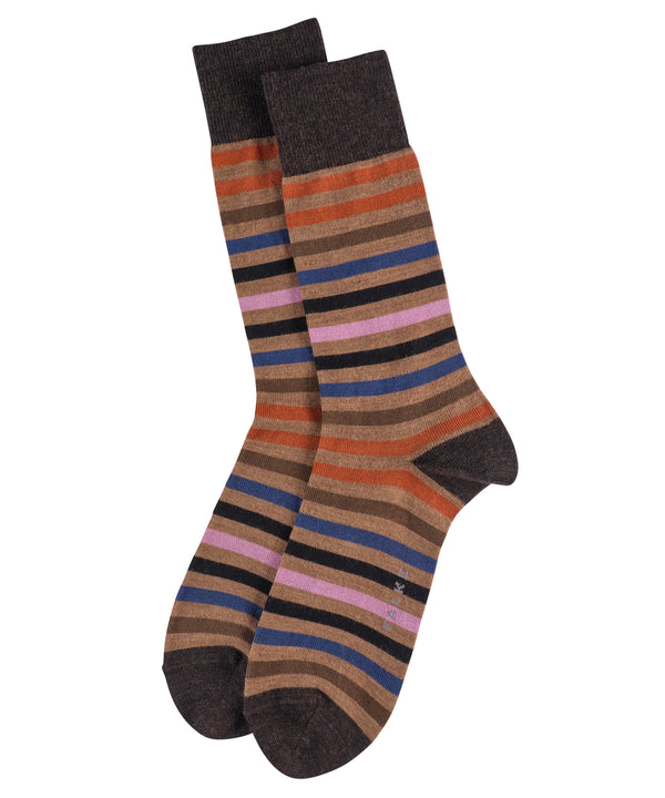 CANVAS TINTED STRIPE SOCKS