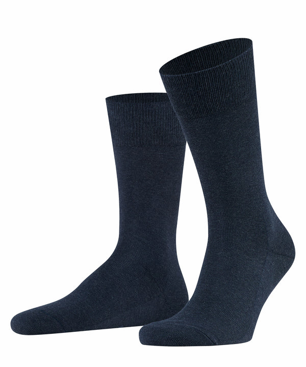 NAVY BLUE MEL FAMILY SOCKS
