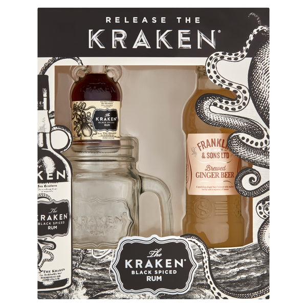 KRAKEN JAR & GINGER BEER SET
