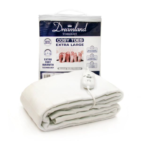 COSY TOES HEATED ELECTRIC UNDERBLANKET