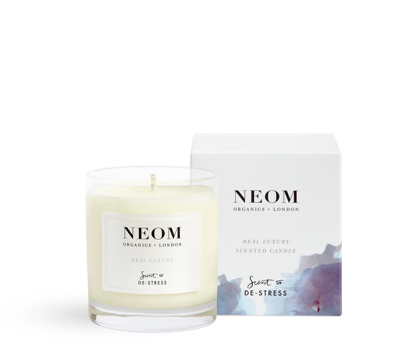 REAL LUXURY SCENTED CANDLE 1 WICK