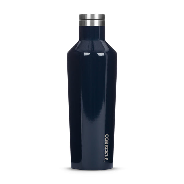 Corkcicle Gloss Navy Canteen Water Bottle 475ml