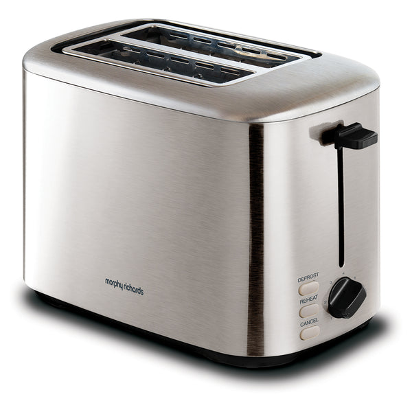 Morphy Richards Equip Stainless Steel 2-Slice Toaster