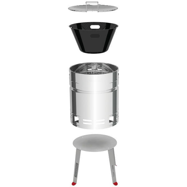 Tramontina Beer Barrel Grill