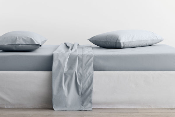 300 THREAD COUNT ORGANIC PERCALE FITTED SHEET