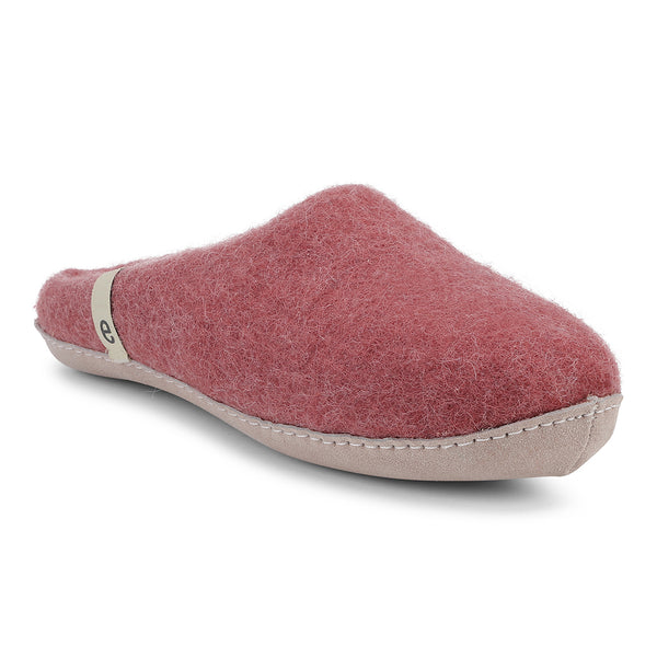 Egos Mule Wool Slippers