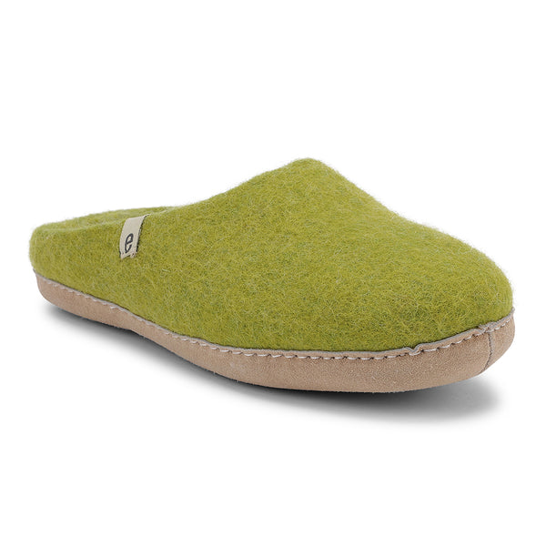 MULE WOOL SLIPPERS