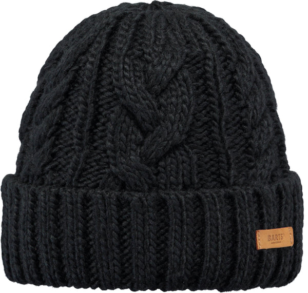 Barts Accessories Black Jeanne Beanie