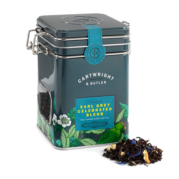 LOOSE LEAF EARL GREY TEA CADDY 90G