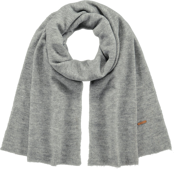 Barts Accessories Heather Grey Witzia Scarf