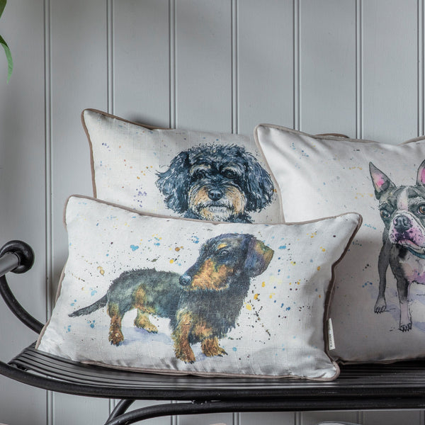 WATERCOLOUR CAVAPOO CUSHION