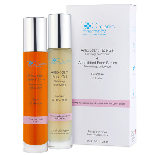 ANTIOXIDANT FACE SERUM & ANTIOXIDANT FACE GEL 35ML SET