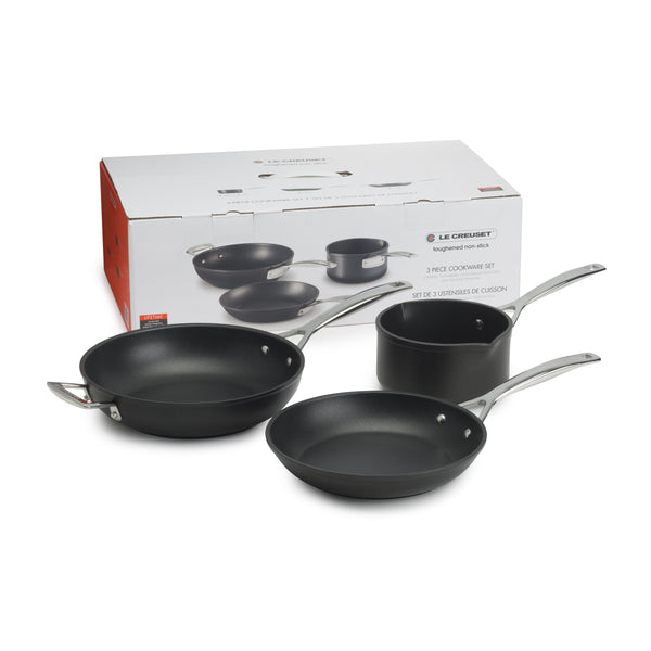 Le Creuset Toughened Non Stick 3 Piece Cookware Set