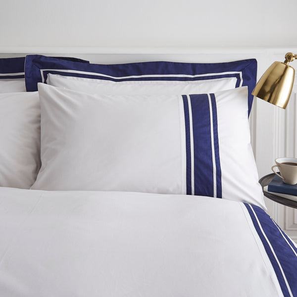 BERKELEY COTTON TAILORED DUVET SET