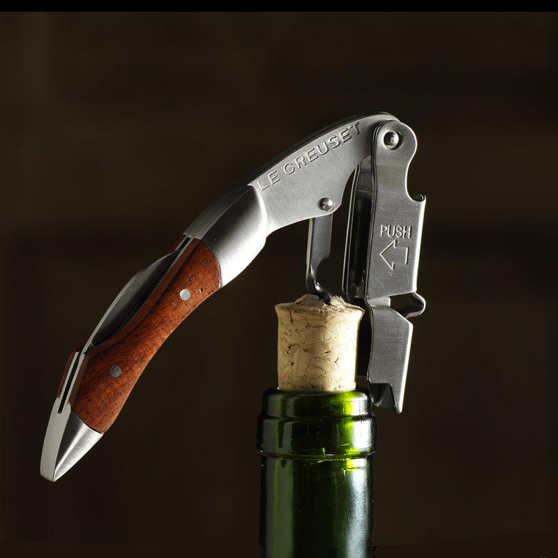 Waiter's Corkscrew with Wooden Handle