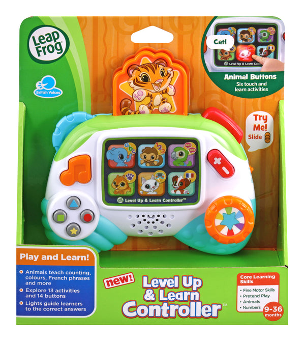 LEVEL UP & LEARN CONTROLLER