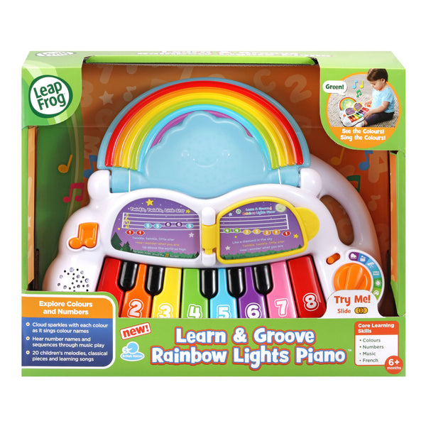 Leapfrog Learn And Groove Rainbow Lights Phone