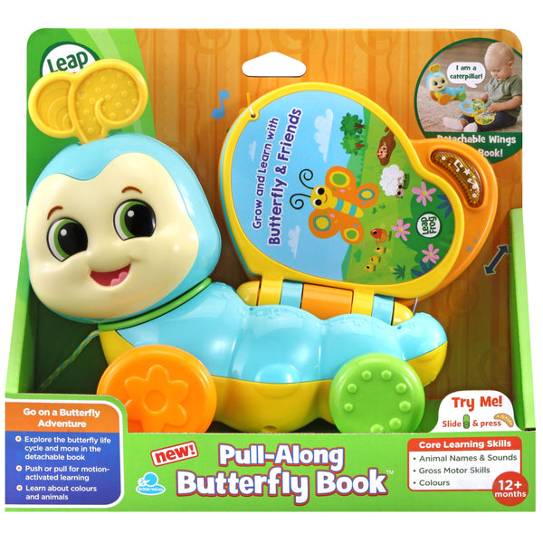 Leapfrog Pull Along Butterfly Book